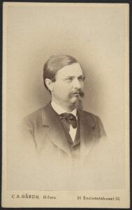 Herman Liikanen (kuva: C.A.Hårdh 1870-1879)