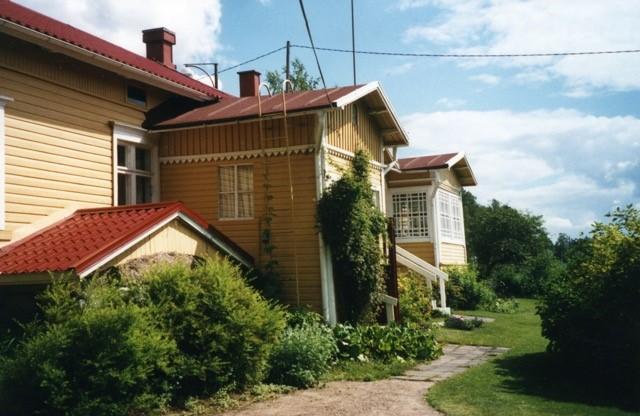 Uudempi kuva Antin talosta. Kuvat Pirkko Liikanen.